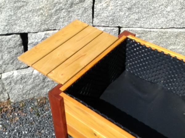 Balkon Hochbeete, Modell Deluxe, Franz Neuenschwander